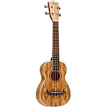 Open Box Manuel Rodriguez RCUSM Spalted Maple Concert Ukulele