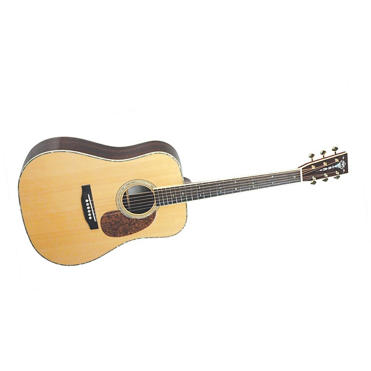 Recording KingRD-227 All Solid Wood Dreadnought Acoustic-Electric Guitar
