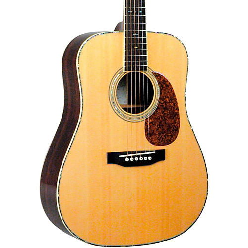 Recording King RD-227 All Solid Wood Dreadnought Acoustic Guitar Natural