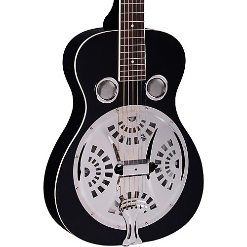 Regal RD-40S Square Neck Resonator Guitar Black