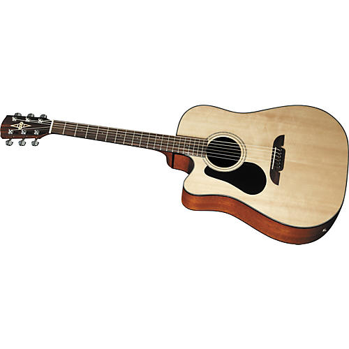 Alvarez RD20SCL Left-Handed Dreadnought Acoustic-Electric Guitar-thumbnail