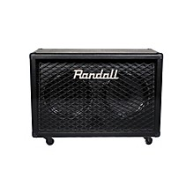 Randall RD212-V30 Diavlo 2X12 Angled Guitar Cab Black