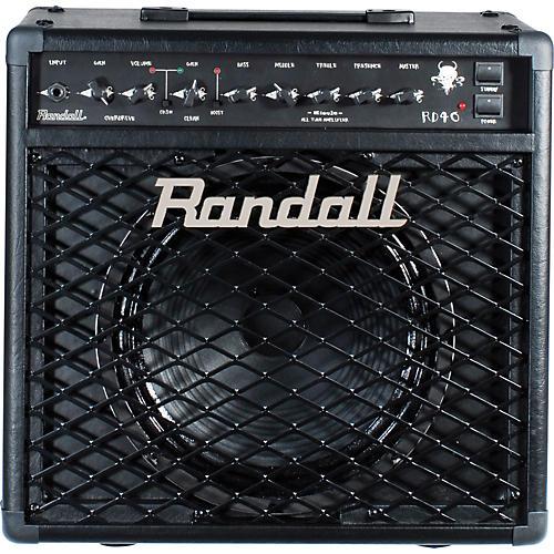 Randall RD40C Diavlo 40W 1x12 Tube Guitar Combo Amp Black
