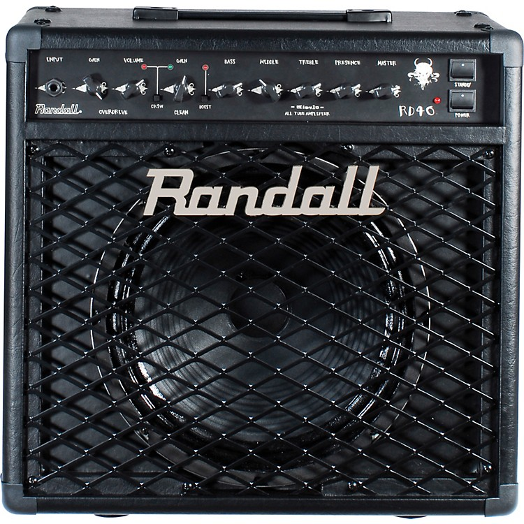 RandallRD40C Diavlo 40W 1x12 Tube Guitar Combo AmpBlack