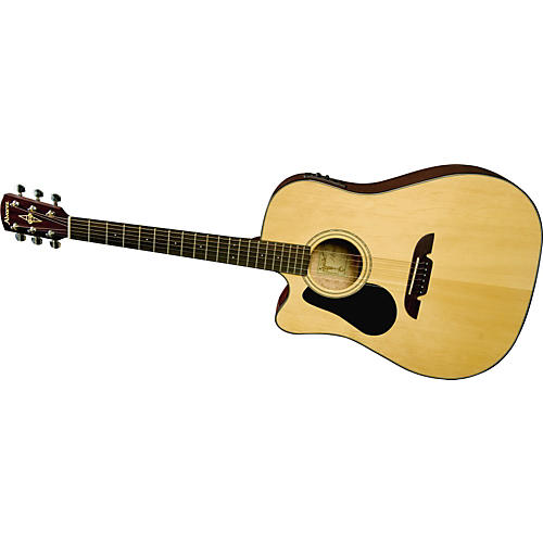 Alvarez RD4102CL Left-Handed Regent Dreadnought Acoustic-Electric Guitar with Fishman Aero+-thumbnail