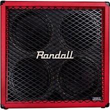 Randall RD412-V 4x12 Guitar Speaker Cabinet Red