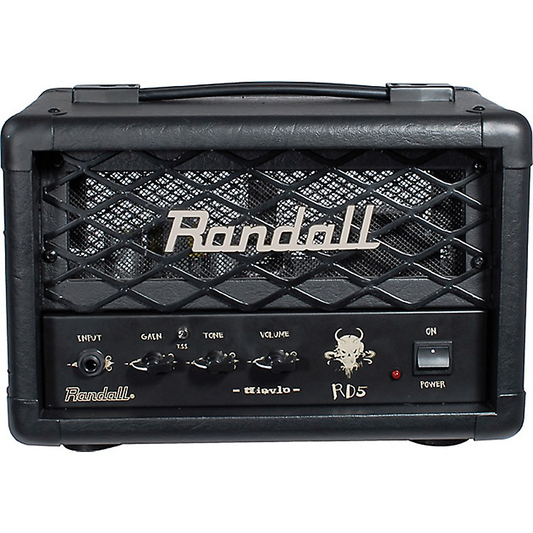 RandallRD5H Diavlo 5W Tube Guitar HeadBlack