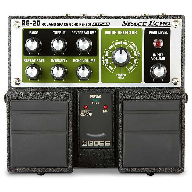 BossRE-20 Space Echo Delay / Reverb Pedal