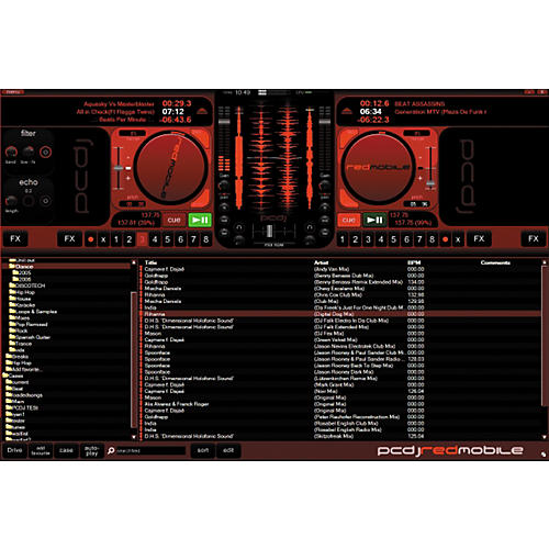PCDJ RED Mobile DJ Software