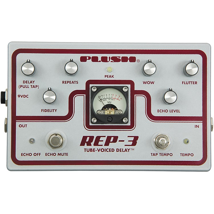 Plush REP-3 Solid State Delay Guitar Effects Pedal