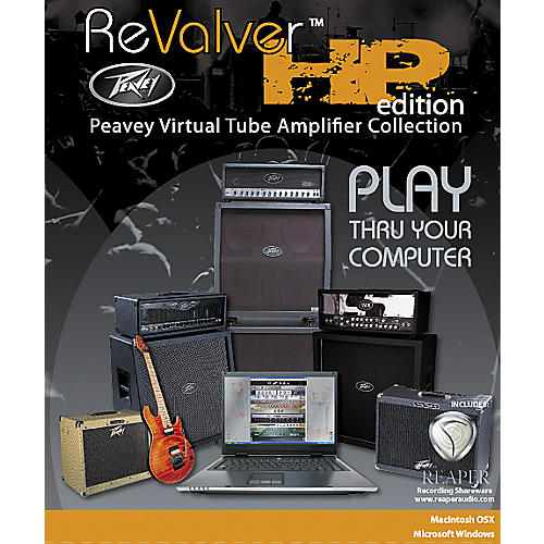 Peavey REVALVER HP Virtual Amp Modeling Software