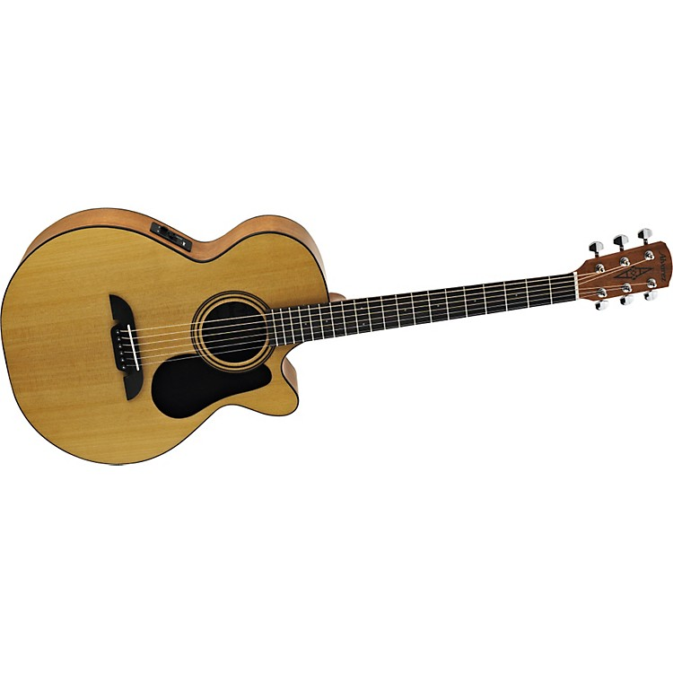 AlvarezRF12CE Regent Series Folk/OOO Size Acoustic-Electric Cutaway Guitar