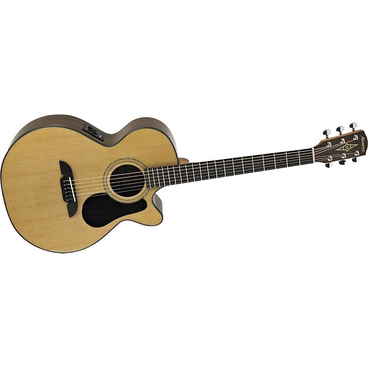 AlvarezRF17CE Regent Series  Folk/OOO Size Acoustic-Electric Cutaway Guitar