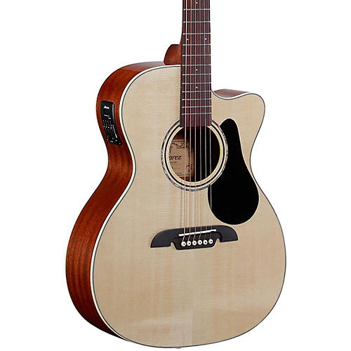 Alvarez RF26CE OM/Folk Acoustic-Electric Guitar Natural
