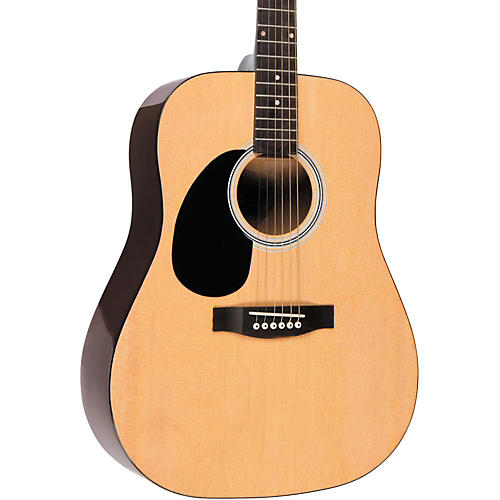 Rogue RG-624 Left-Handed Dreadnought Acoustic Guitar Natural