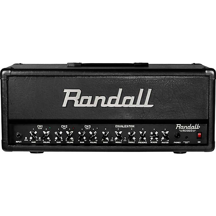 Randall RG1003H 100W Solid State Guitar Head Black