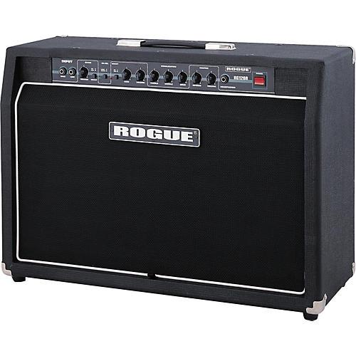 rogue rg120r 120 watt 2x12 guitar combo with reverb musician 39 s friend. Black Bedroom Furniture Sets. Home Design Ideas