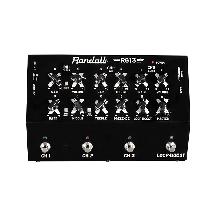 Randall RG13 IW Solid State Guitar Pedal Amplifier Black