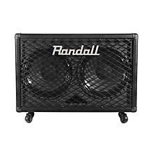 Randall RG212 2x12 100W Guitar Speaker Cabinet Black