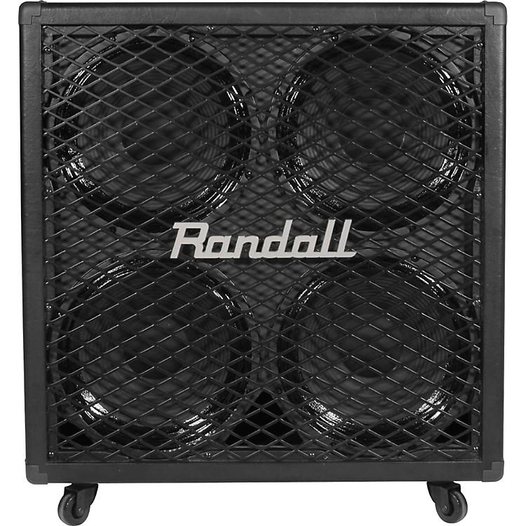 RandallRG412 4x12 200W Guitar Speaker CabinetBlack