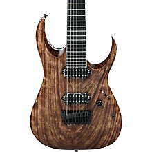 Ibanez RGA Iron Label RGAIX7U 7-String Electric Guitar Antique Brown Stained