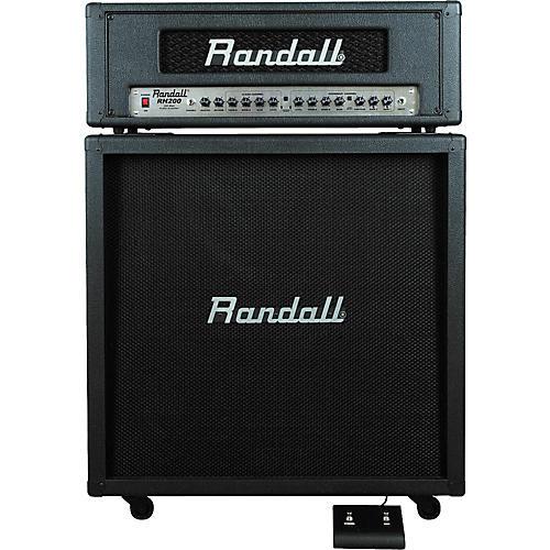 Randall RH200/R412CX Half Stack
