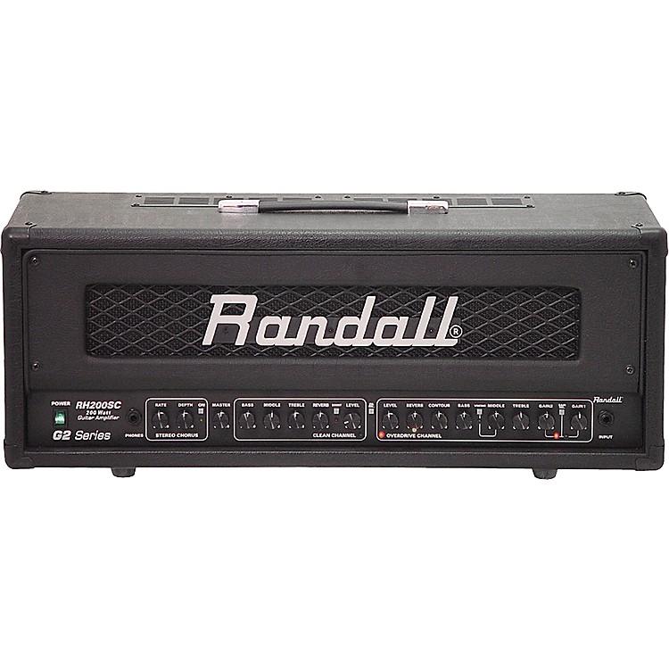 RandallRH200SC/G2 200W Stereo Guitar Amp Head