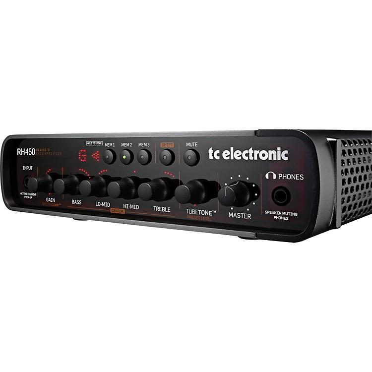TC ElectronicRH450 Bass Amp HeadBlack