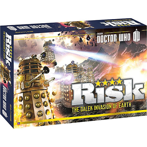 USAOPOLY RISK: Doctor Who: The Dalek Invasion of Earth-thumbnail