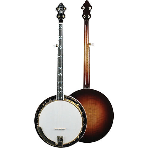 Recording King RK-R85-SN Soloist Banjo with Gold Hardware