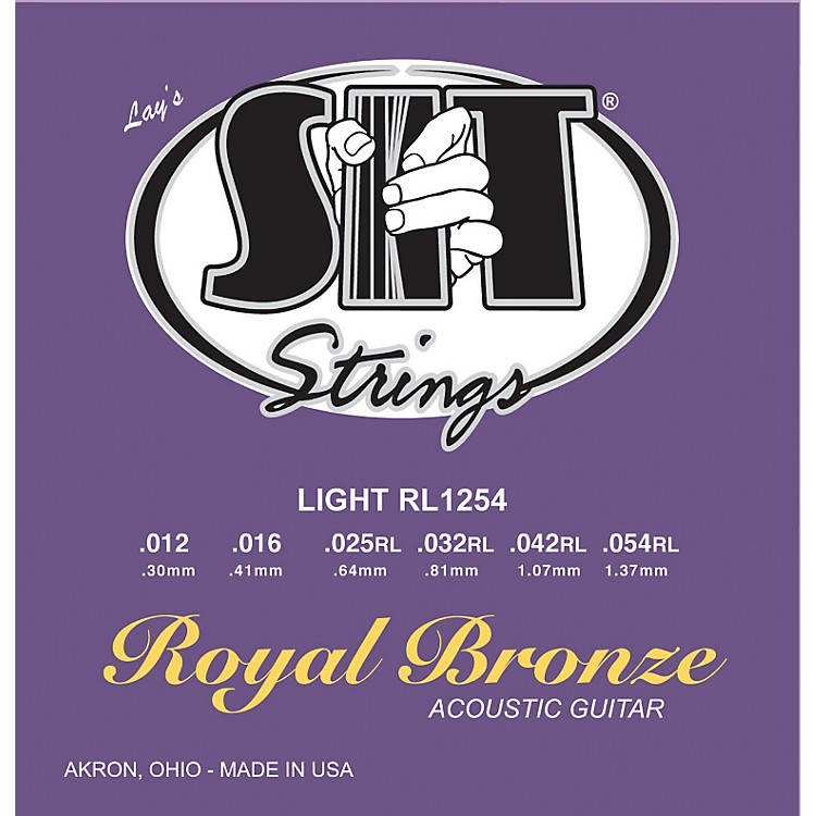 SIT Strings RL1254 Light Royal Bronze Acoustic Guitar Strings
