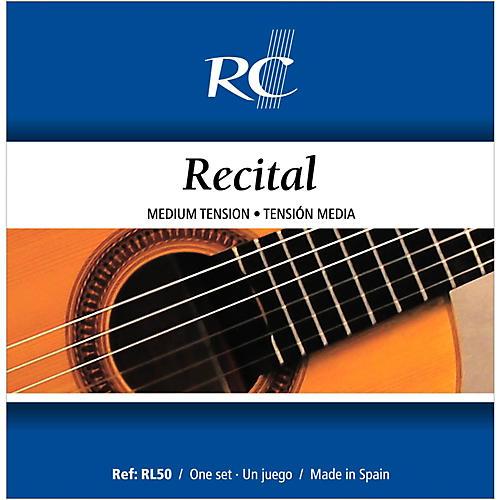 RC Strings RL50 Recital Medium Tension Nylon Guitar ...