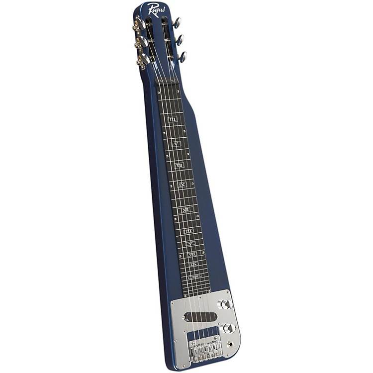 Rogue RLS-1 Lap Steel Guitar with Stand and Gig Bag Metallic Red