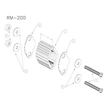 Yamaha RM200 Large Marching Quad Spacer