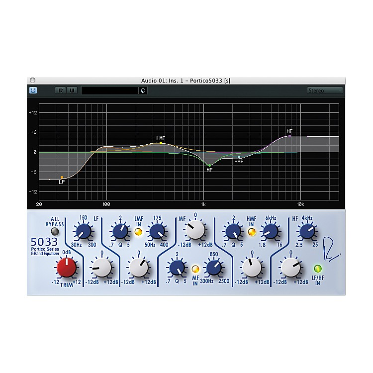 Steinberg RND Portico 5033 EQ Software Plug-In