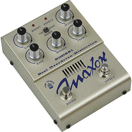 Maxon ROD881 Real Tube Overdrive / Distortion Guitar Effects Pedal