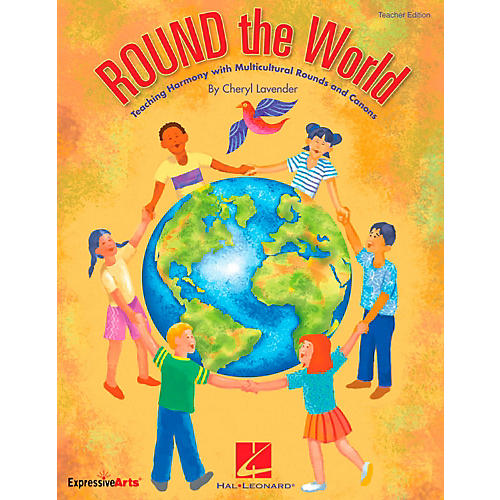 Hal Leonard ROUND The World - Teaching Harmony Multicultural Rounds And Canons Classroom Kit-thumbnail