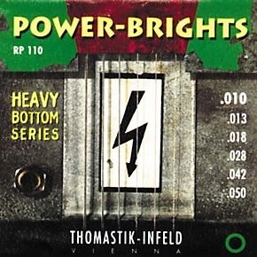 thomastik rp110 power brights heavy bottom medium light electric guitar strings musician 39 s friend. Black Bedroom Furniture Sets. Home Design Ideas