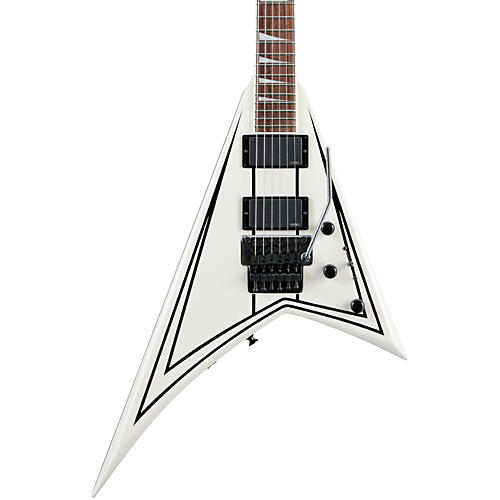 Jackson RRXMG Rhoads X Series Electric Guitar Snow White W/Black Pinstripes
