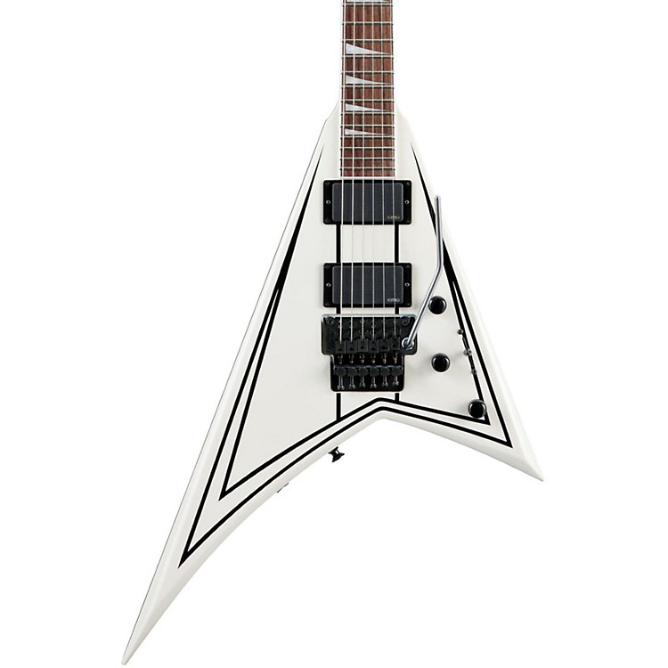 Jackson RRXMG Rhoads X Series Electric Guitar Snow White W/Black Pinstripes