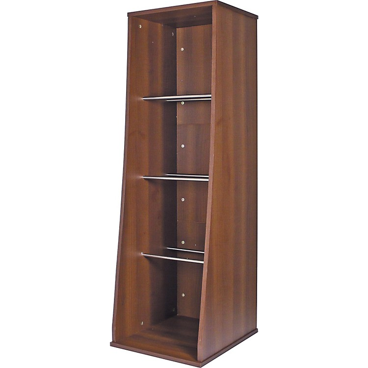Sefour RS300 500 LP Vinyl Storage Unit Tobacco Walnut