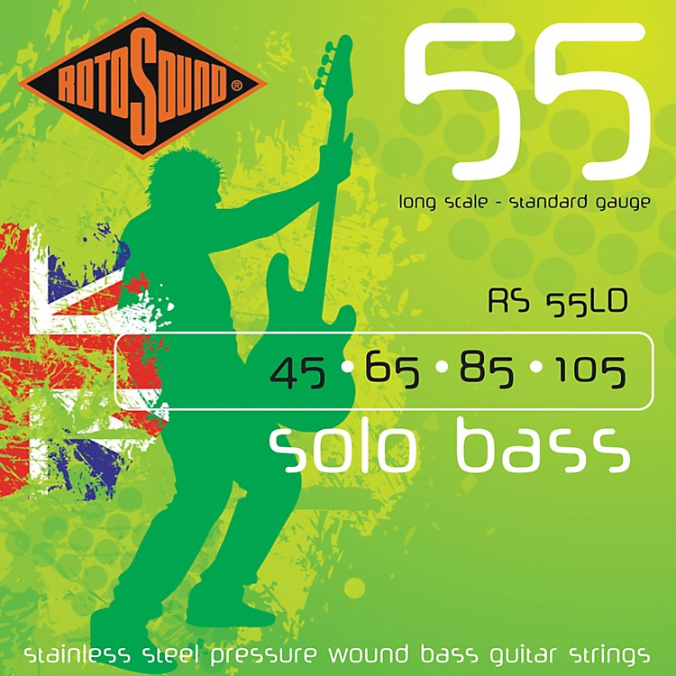 Rotosound RS55LD Solo Bass Stainless Steel Strings