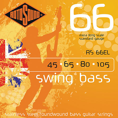 Rotosound RS66EL Extra Long Scale Bass Strings-thumbnail