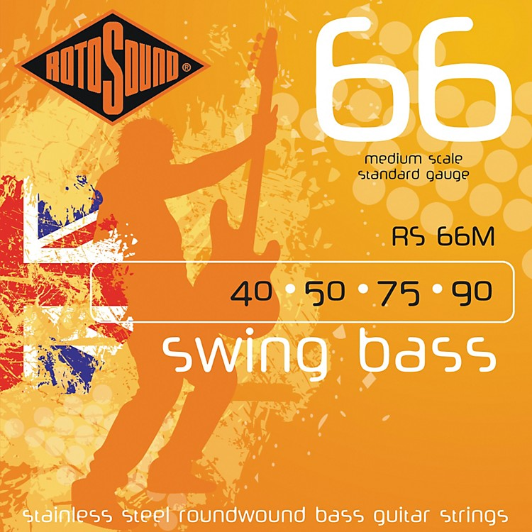 RotosoundRS66M Medium Scale Bass Strings