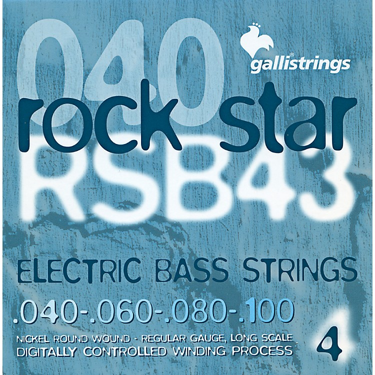 Galli Strings RSB43 ROCKSTAR Regular Bass Strings 40-100