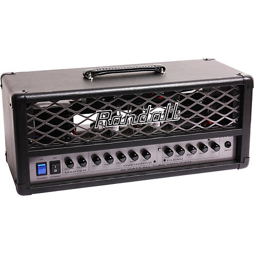 Randall RT Series RT50H 50W Tube Guitar Amp Head