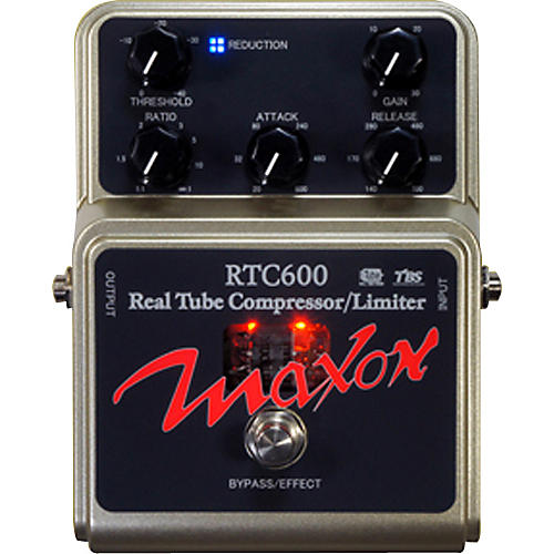 Maxon RTC600 Real Tube Compressor Guitar Effects Pedal-thumbnail