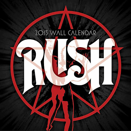 Browntrout Publishing RUSH 2015 Calendar Square 12x12