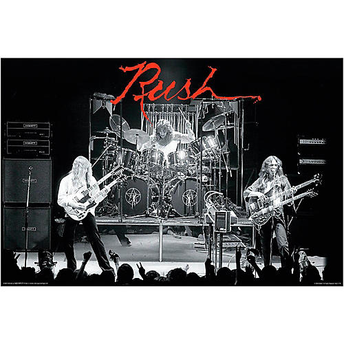 Hal Leonard RUSH Hemispheres Wall Poster-thumbnail