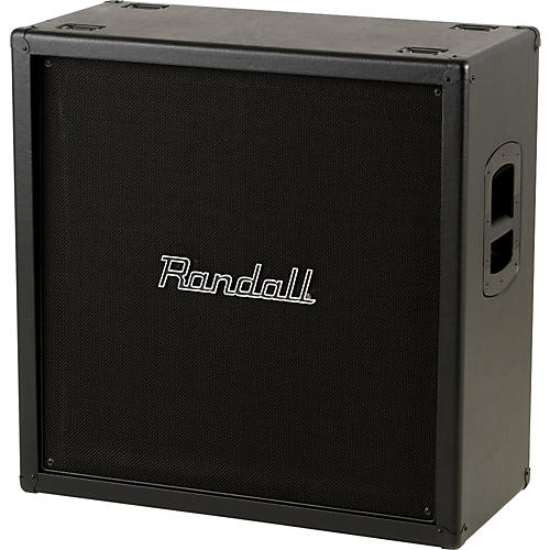 Randall RV Series RV412 240W 4x12 Guitar Speaker Cabinet Black Straight